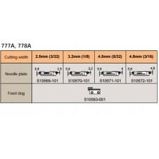 Двигатель ткани S10583-001 Brother