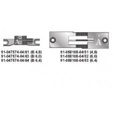 Двигатель ткани 91-047574-04x6.4 Pfaff