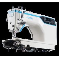 Jack A4E-Q промышленная швейная машина с автоматикой для лёгких и средних тканей