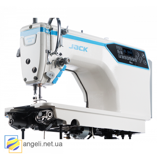 Jack A4E-HQ промышленная швейная машина с автоматикой для средних и тяжёлых тканей