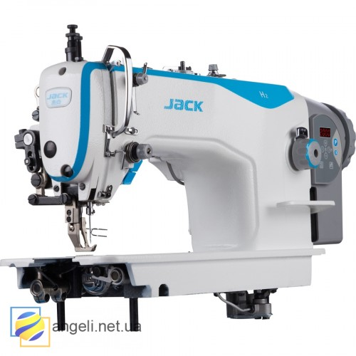 Jack H2-CZ-12 Прямострочная швейная машина  с двойным продвижением и длиной стежка 12мм