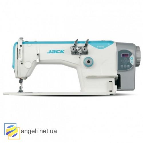 Jack JK-8558WD/WZ-3 двухигольная швейная машина цепного стежка (последовательная игла) со встроенным сервоприводом