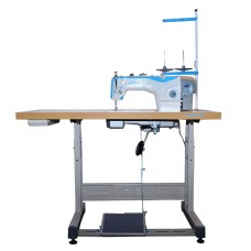 Jack A2-CHZ Прямострочная машина с автоматической обрезкой нити для средних и тяжелых тканей