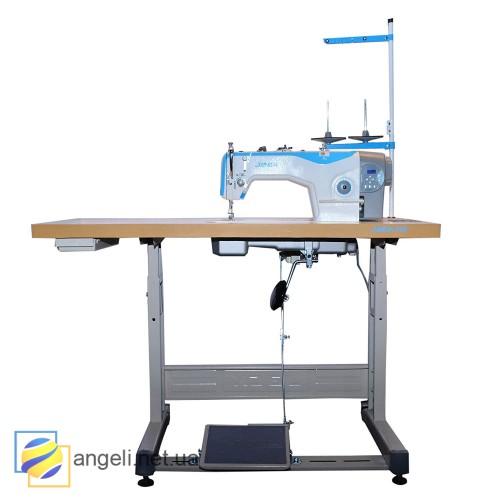 Jack A2-H Прямострочная машина с автоматической обрезкой нити для средних и тяжелых тканей