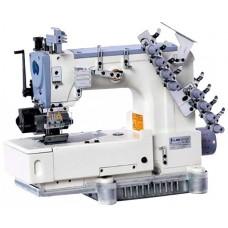 Jack JK-8009VC-04064P четырехигольная швейная машина двухниточного цепного стежка