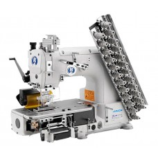 Jack JK-8009VC-13032P 13-игольная швейная машина цепного стежка