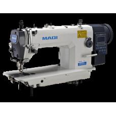MAQI LS 0303ECX-TD4 промышленная швейная машина с увеличенным челноком, двойным продвижением и автоматическими функциями, стежок 12мм