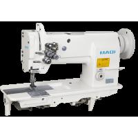 MAQI LS 4420 Двухигольная машина для кожи с тройным продвижением материала