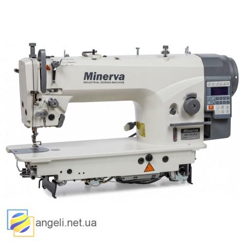 Minerva M6160JE4, Беспосадочная швейная машина