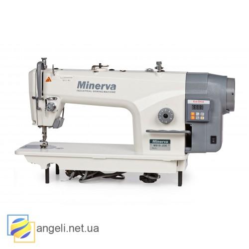 Minerva M818-JDE одноигольная прямострочная швейная машина челночного стежка