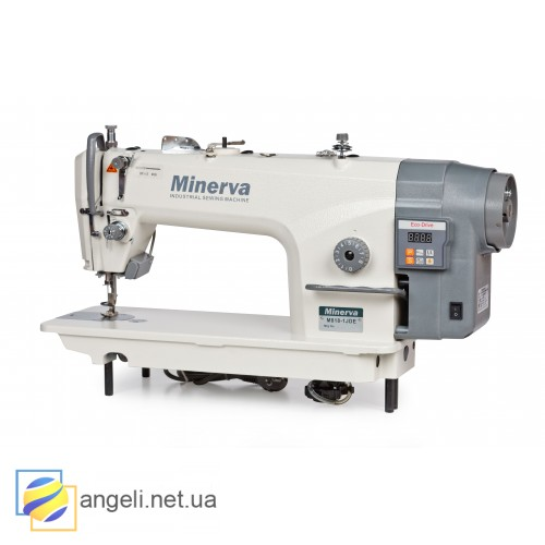 Minerva M818-1 JDE  Промышленная прямострочная швейная машина с функцией обрезки нити
