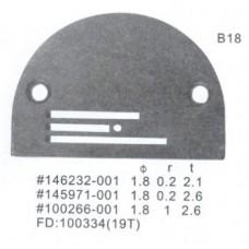 Игольная пластина B18 Ø 1,8 мм Универсальная