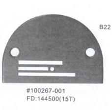 Игольная пластина B22 Ø 2,2 мм  Универсальная