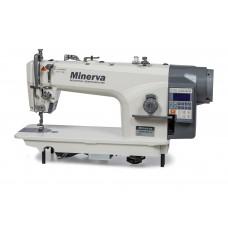 Minerva 9800JE4-H Промышленная прямострочная швейная машина с автоматикой