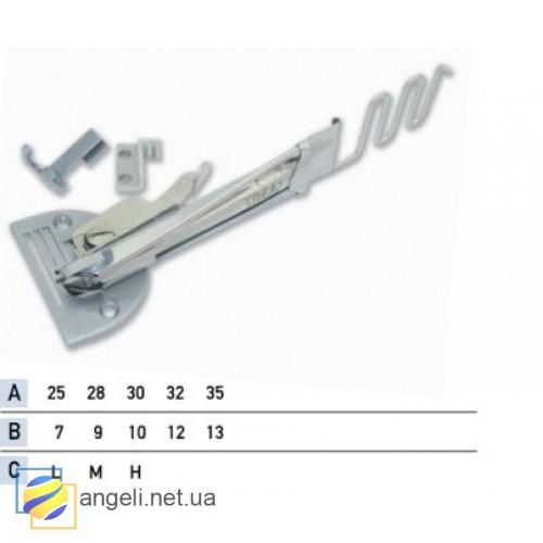 Приспособление для окантовки бейкой в три сложения UMA-09