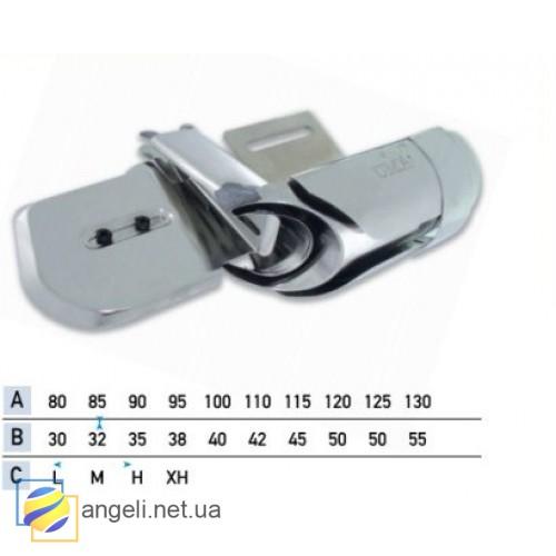 Приспособление для втачки цельнокроенного пояса из вельвета в четыре сложения UMA-110-KD (55~60)