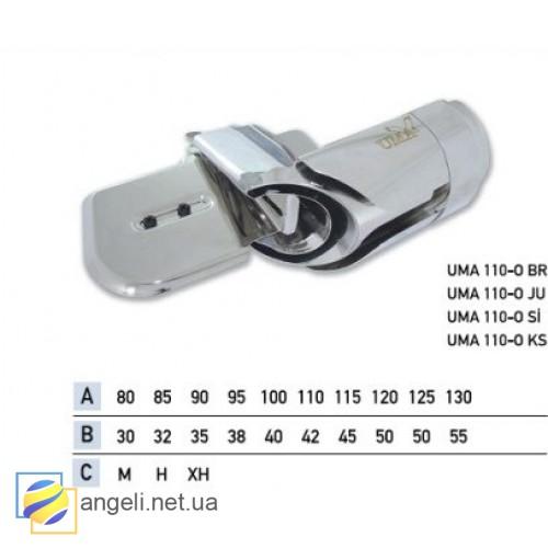 Приспособление для втачки цельнокроенного пояса в четыре сложения UMA-110-O (30~42)
