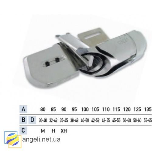Приспособление для притачки цельнокроенного пояса в три сложения UMA-111 (45~50)