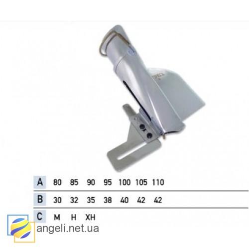 Приспособление для притачки цельнокроенного пояса в четыре сложения UMA-112 (25~42)