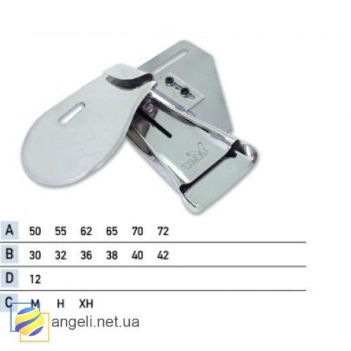 Приспособление для притачки нижнего пояса с подгибом среза брюк вниз UMA-114