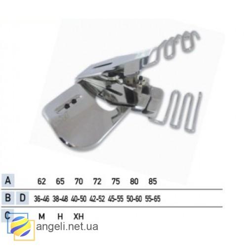 Приспособление для втачки двойного пояса с изгибом UMA-118-T (32~42)
