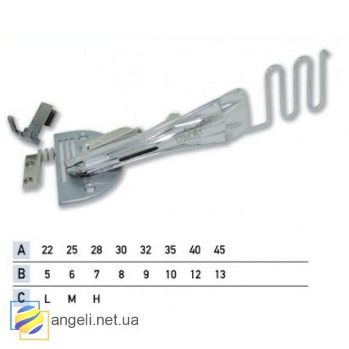 Приспособление для окантовки бейкой в четыре сложения UMA-14 (5~10)