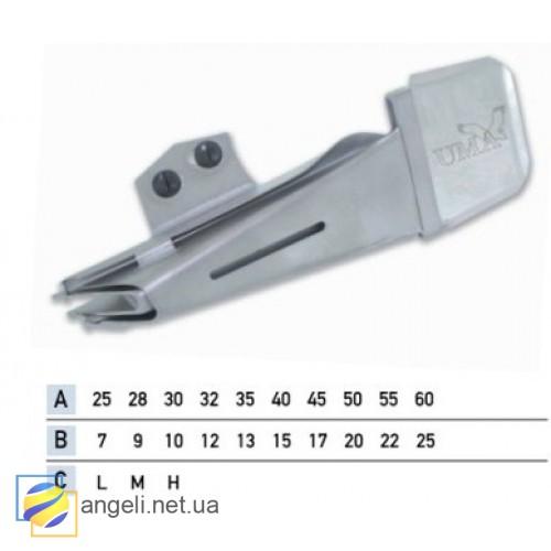 Приспособление для окантовки бейкой в три сложения UMA-16