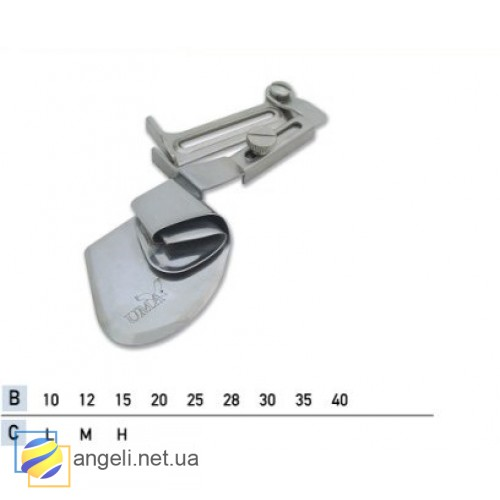 Приспособление для двойной подгибки среза вверх UMA-169 (27~45)
