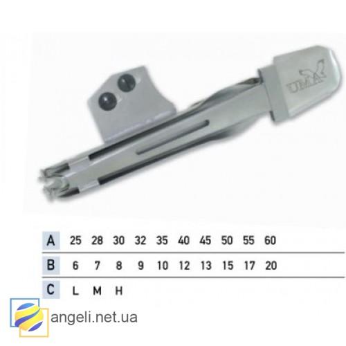 Приспособление для окантовки бейкой в четыре сложения UMA-17