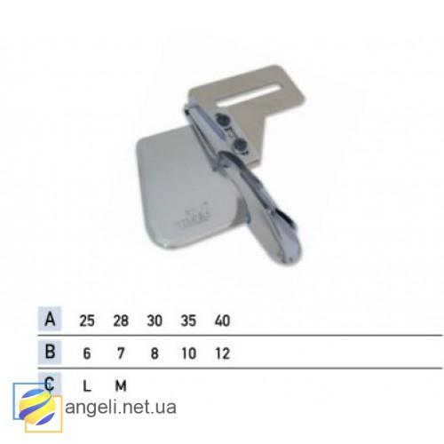 Приспособление для окантовки бейкой в четыре сложения UMA-215