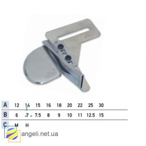 Приспособление для окантовки бейкой в два сложения UMA-216