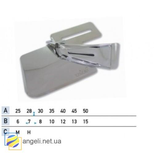 Приспособление для окантовки бейкой в четыре сложения UMA-217