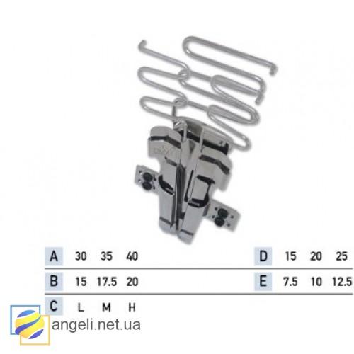 Приспособление для лампаса с двумя окантовками в два сложения UMA-23