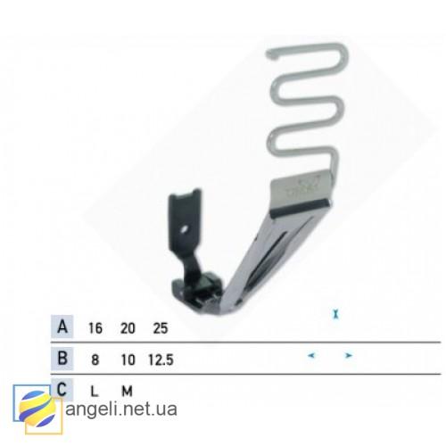 Приспособление для настрачивания ленты с подгибкой срезов UMA-232