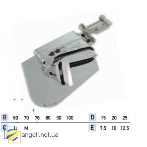 Приспособление для подгибки среза в два сложения с кантом в два сложения UMA-241 (60~100)