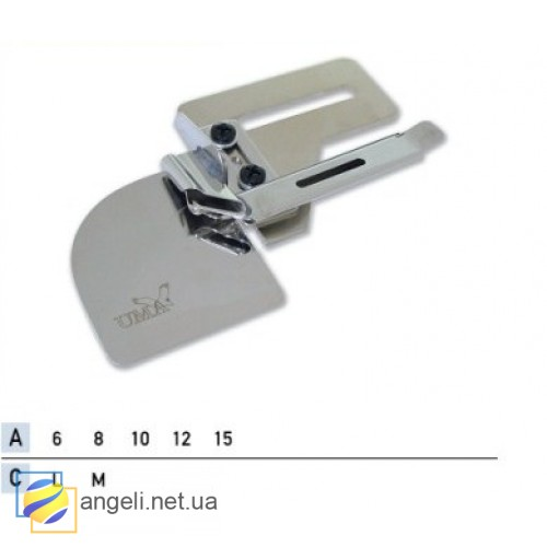 Приспособление для втачки декоративного канта со шнуром UMA-243-B