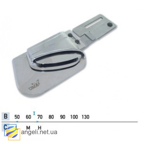 Приспособление для двойного подгиба низа штор UMA-300 (50~70)