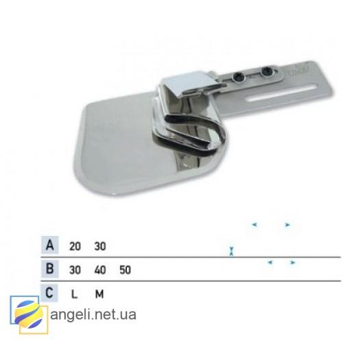 Приспособление для настрачивания ленты с подгибом среза UMA-307