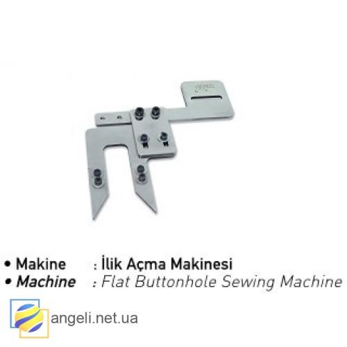 Шаблон для разметки петли уголков воротника сорочки UMA-340