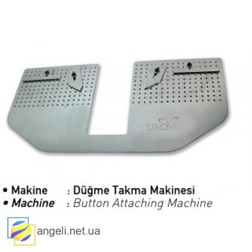 Шаблон для разметки петли уголков воротника сорочки UMA-342