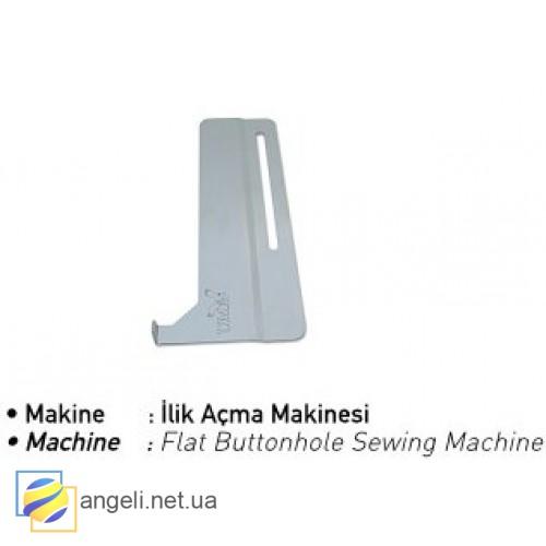 Шаблон для пуговицы на планке сорочки UMA-344