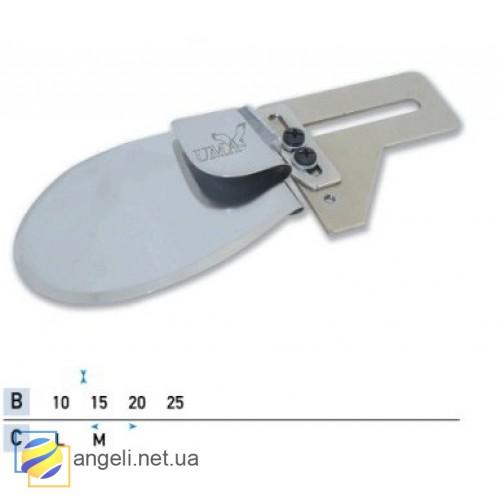 Приспособление для подгиба среза вниз в одно сложение UMA-50