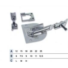 Приспособление для окантовки в два сложения зигзагом UMA-68