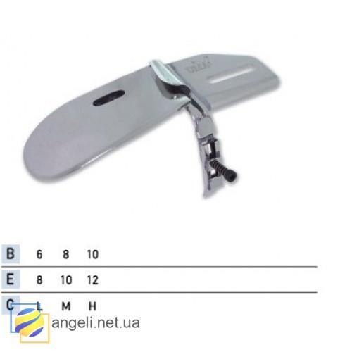 Приспособление для подгибки вниз с притачкой резинки UMA-84