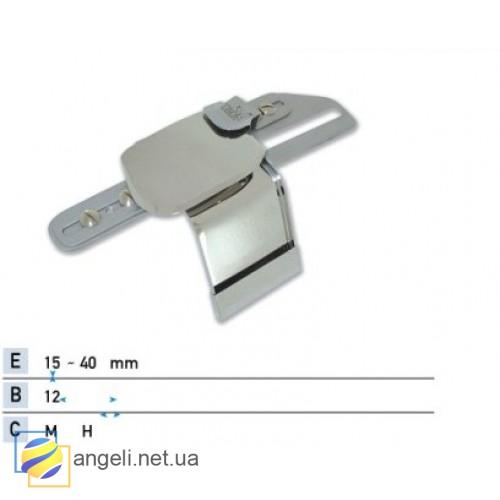 Приспособление для подгибки вниз с притачкой поясной резинки снизу UMA-88