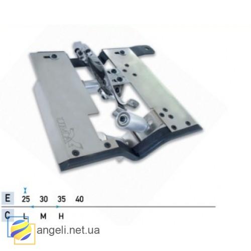 Приспособление для подгибки с закрытым срезом с втачкой поясной резинки UMA-91