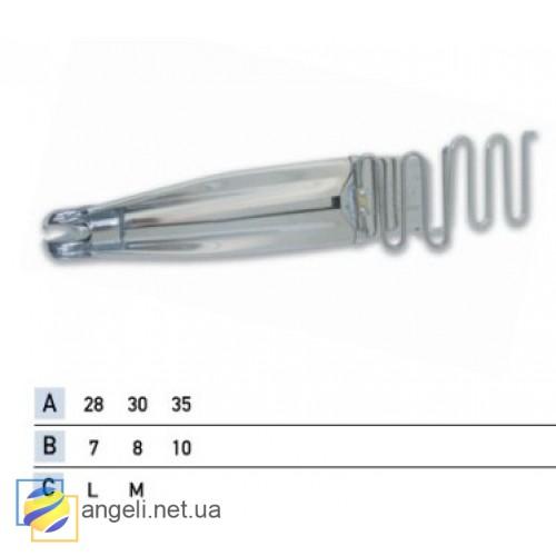 Приспособление для втачки жесткого канта в два сложения в кант в четыре сложения UMA-96