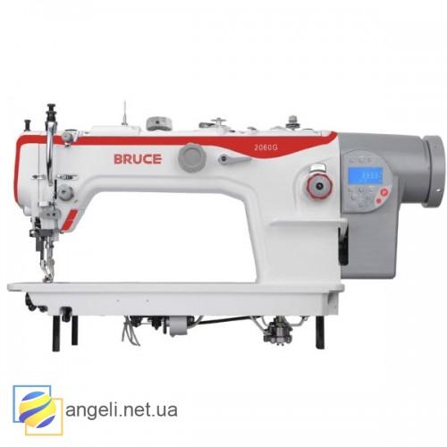 Bruce BRC-2060GHC-4Q Промышленная швейная машина с тройным продвижением и автоматикой, увеличенный рукав