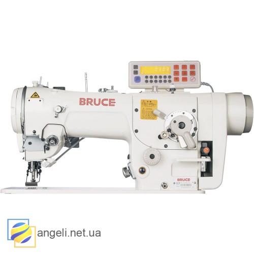 BRUCE BRC-2284B-4E промышленная швейная машина зигзагообразного стежка с автоматикой
