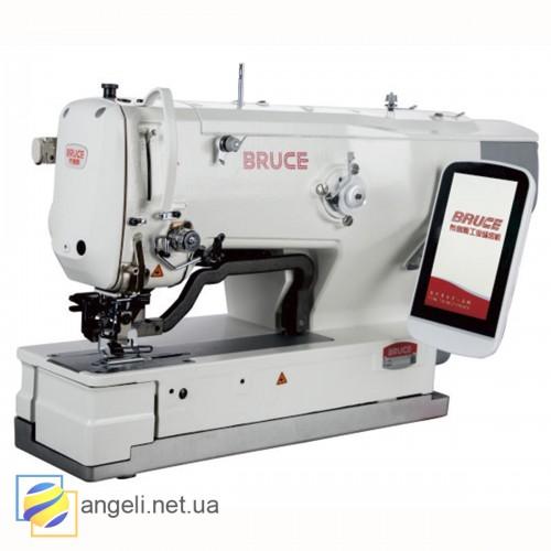 BRUCE BRC-1790GS-2-D Промышленная электронная петельная машина для текстильних материалов